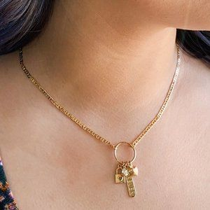 Jewelry - 18K Gold Filled Love Charm Necklace